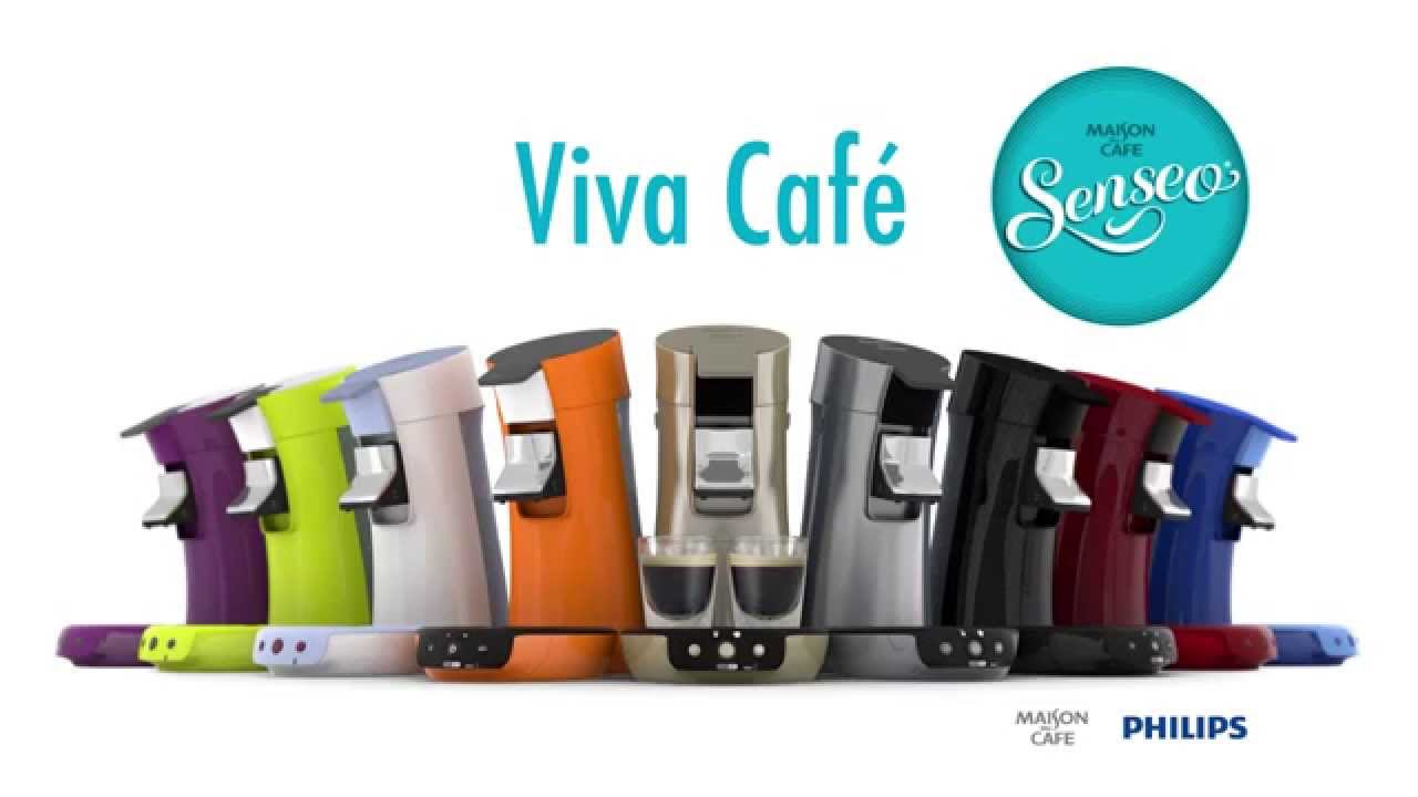 philips senseo viva cafe machine dosettes et capsules vid o produit youtube. Black Bedroom Furniture Sets. Home Design Ideas