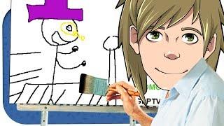 Zombey zeichnet und beleidigt mich! ☆ Skribbl.io
