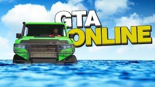 ЕСЛИ ОСТАНОВИШЬСЯ, ТЫ УТОНЕШЬ! ОПАСНЫЙ СКИЛЛ-ТЕСТ В GTA 5 ONLINE
