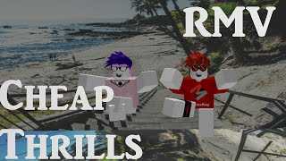 Cheap Thrills - Sia ft Sean Paul ROBLOX MUSIC VIDEO w/ Fans [1K SUBS]