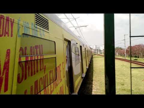 CPTM - Série 7000 (Q124) chegando na estação Santo Amaro (Linha 9-Esmeralda)