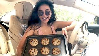 BAKING COOKIES IN MY CAR