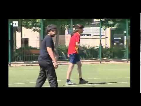 Pablo Iglesias Jugando A Futbol Su Gol Salva Al Rayo Youtube