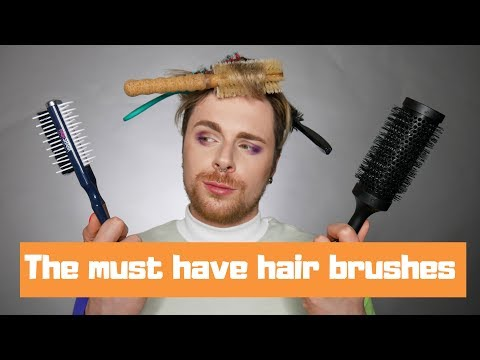 The Best Hair Brushes | Hair Styling Brushes For All Hair Types | Hair Brush ASMR