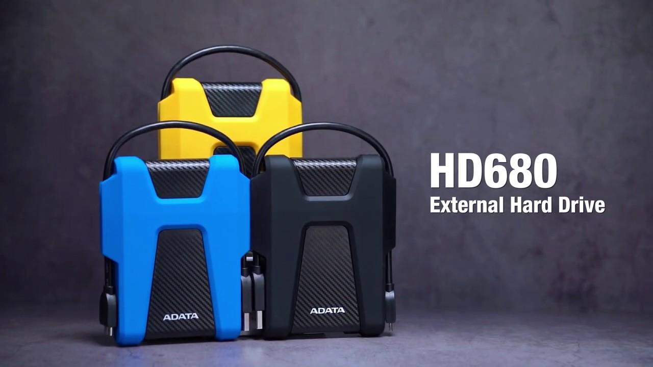 ADATA HD680 External Hard Drive - YouTube