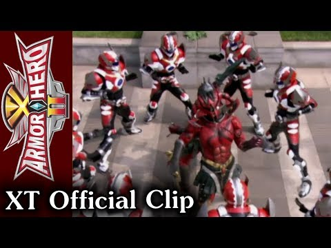 Armor Hero XT - Official English Clip [HD 公式] - 25