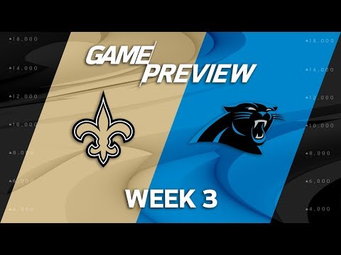 New Orleans Saints vs. Carolina Panthers | Week 3 Game Preview | NFL Playbook