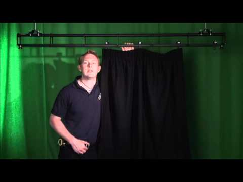 How to measure stage curtains