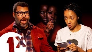 """There's a connection...!"" Jordan Peele on Us and Get Out theories."