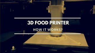 3D Food Printer. How It Works? Demo At IFA 2015