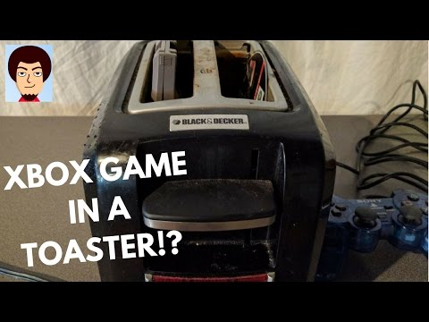 What Happens When You Put an Xbox 360 Game in... A Toaster??