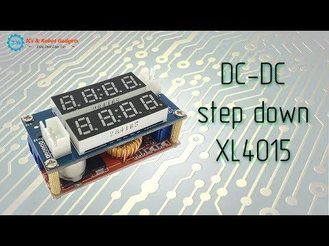 Простой регулируемый блок питания на XL4015