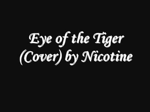 eye of the tiger punk cover by nicotine youtube. Black Bedroom Furniture Sets. Home Design Ideas