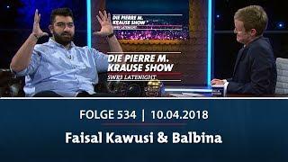 Die Pierre M. Krause Show vom 10.04.2018 mit Faisal, Balbina & Pufpaff