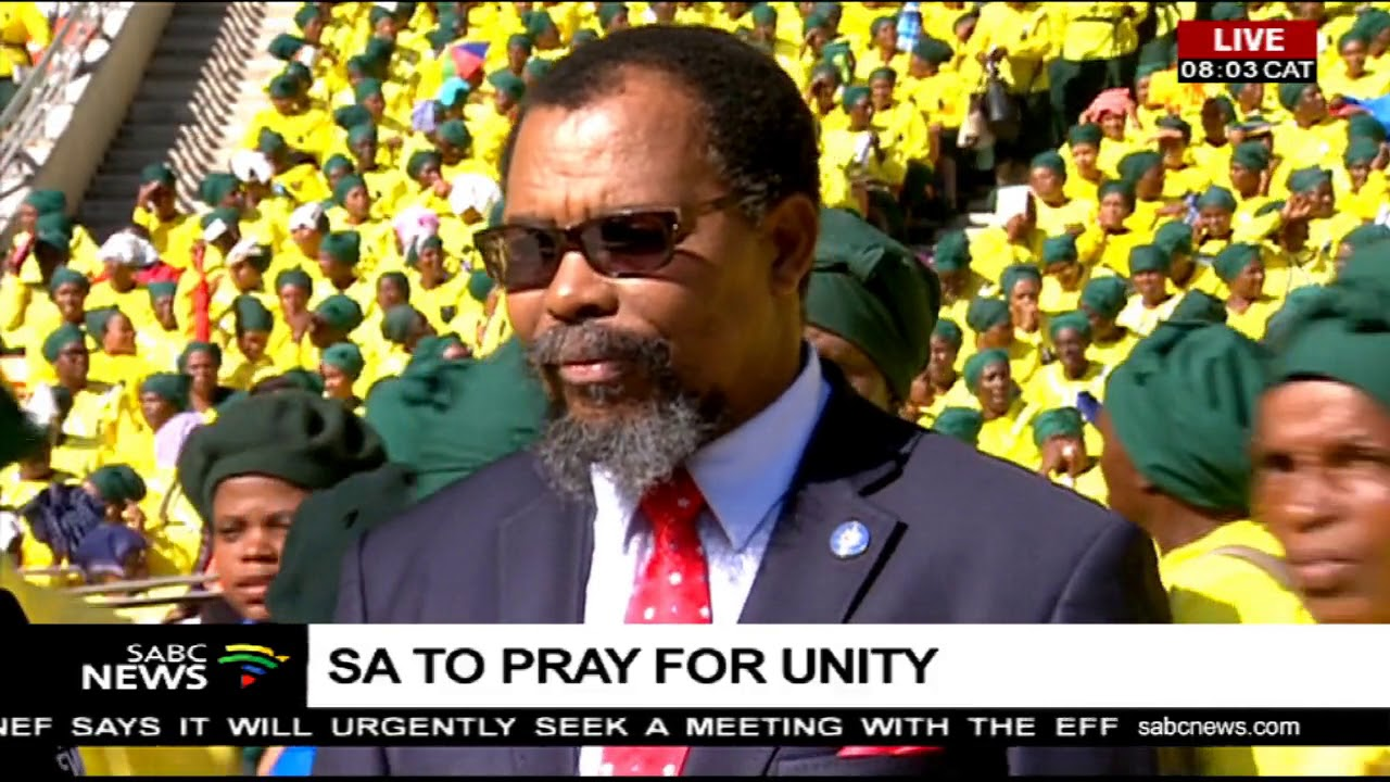 Dr Be Lekganyane: Thousands Assemble For The National Day Of Prayer At FNB