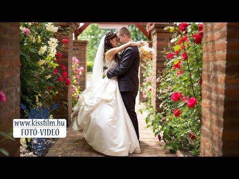 Erika és Péter esküvője Nyíregyházán a Verba Tanya Panzióban