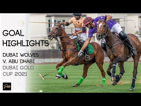 Dubai Wolves By Cafu Polo vs AbuDhabi Polo | Best Goals Gold Cup 2021 | Dubai Polo Season