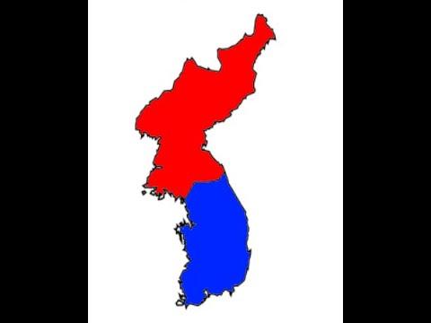 North Korea vs South Korea - The Great Korean War
