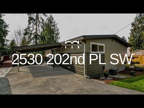 Seattle Area Home Tour | 2530 202nd Pl SW Lynnwood