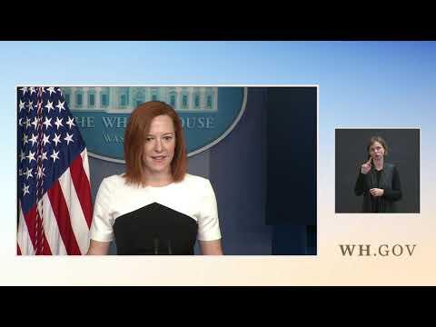 02/23/21: Press Briefing byPOS Press Secretary Jen Psaki
