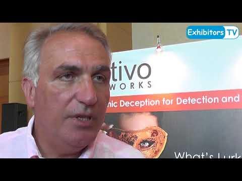Ray Kafity, Vice President, Attivo Networks at RSA Conference 2017 Abu Dhabi