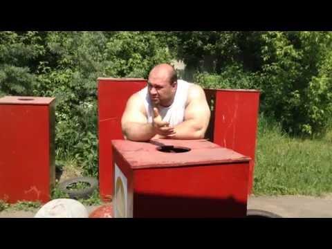Игорь Педан провел тренировку в центре Дикуля
