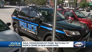 Criminal charges can now be filed for possession of 'bath salts'