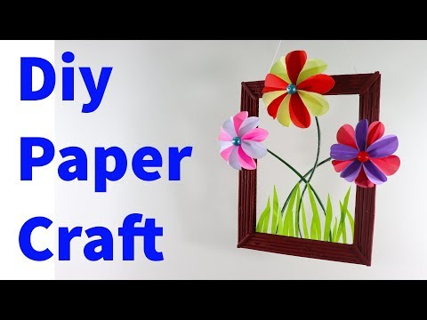 Diy Paper Craft Ideas !!! Handmade craft !! Awesome Papers room Decor !!