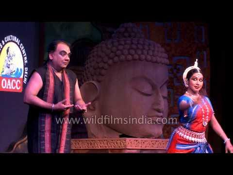 Odissi dance performance at Tyagaraj Nagar, Delhi