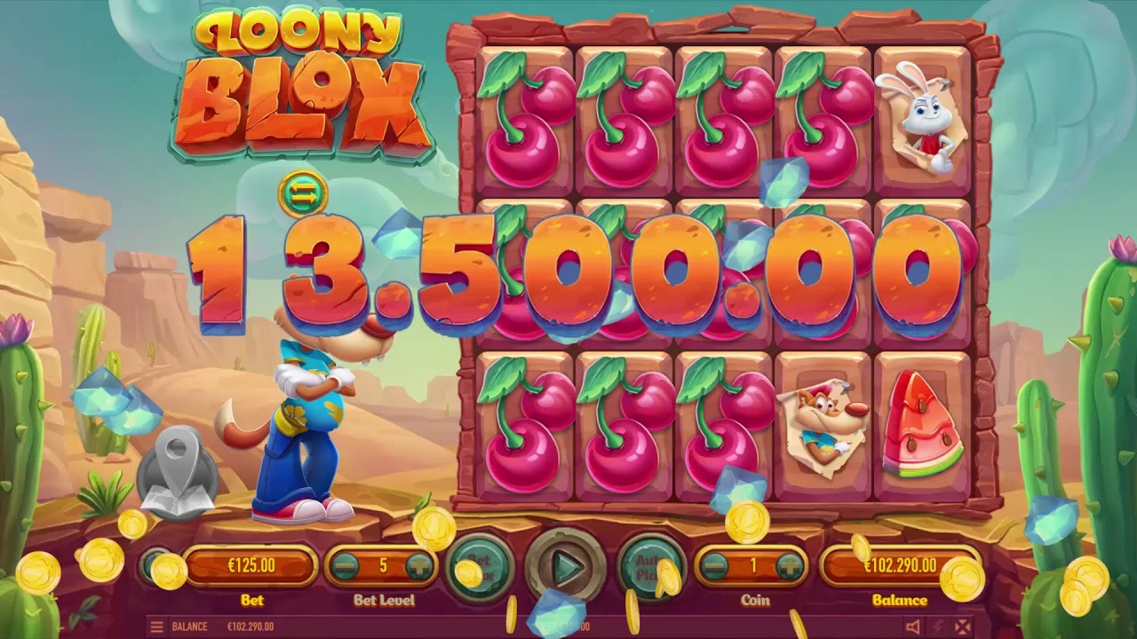Loony Blox (video slot) from Habanero Systems BV