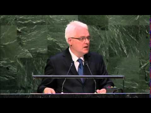 Croatie - Débat 2014 de l'Assemblée générale de l'ONU