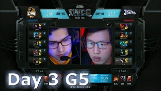 Lyon Gaming vs Saigon Jokers | S6 Worlds 2016 International Wildcard Qualifiers Day 3 | LYN vs SAJ