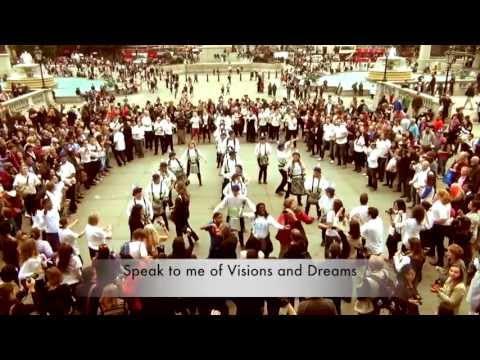 PEACE DAY 21st September 2013 London Flashmob