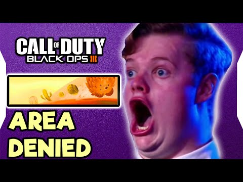 Reacción por Area Denied!!! :O - Call of Duty Black Ops III