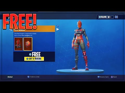 HOW TO GET 'RED KNIGHT' SKIN FOR FREE! Fortnite Skins Free! (All Consoles) Fortnite Battle Royale