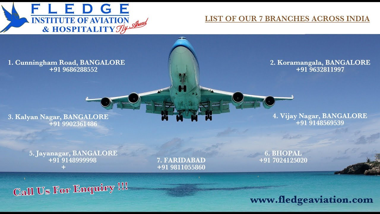Fledge Institute of Aviation and Hospitality - Air Hostess