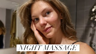 RELAXING NIGHT FACE & SHOULDERS MASSAGE
