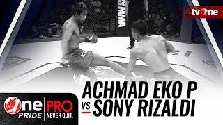 [HD] Achmad Eko P vs Sony Rizaldi - One Pride MMA - Bantamweight