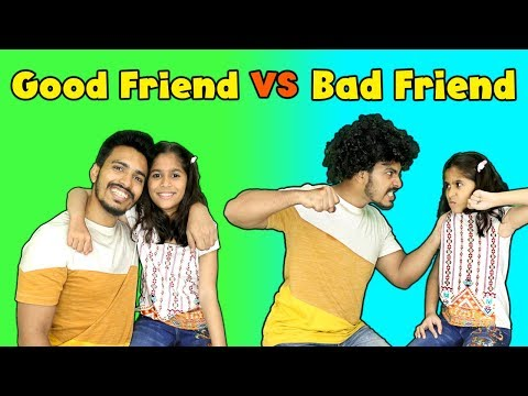 Good Friend Vs Bad Friend | Pari's Lifestyle Funny Video