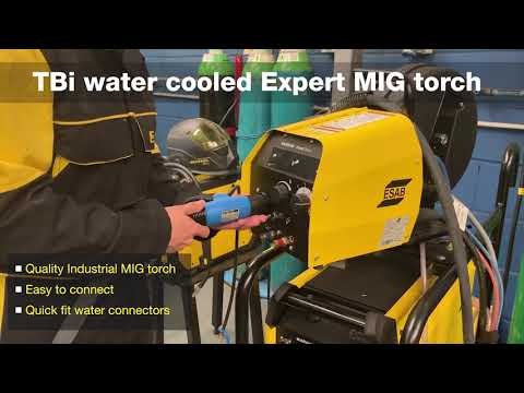 Connecting The Tbi Expert 7w MIG Torch