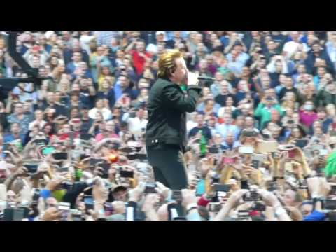 U2 Sunday Bloody Sunday, Dublin 2017-07-22 - U2gigs.com