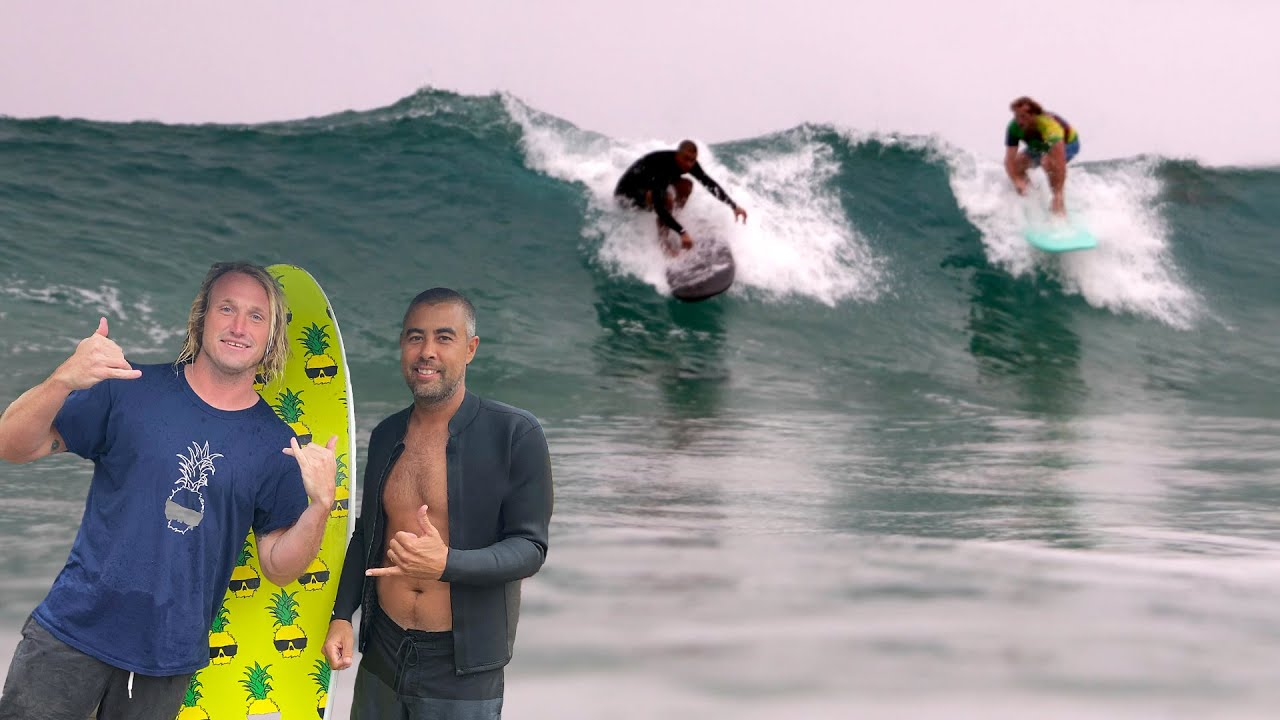 Surfing W/ Eric Koston in Hawaii