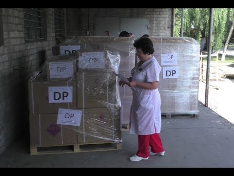 AICM delivers 7 tons of humanitarian help for 15 hospitals of the Donetsk People's Republic