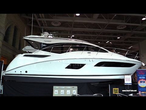 2017 Sea Ray 400 Sundancer Motor Yacht - Walkaround - 2017 Toronto Boat Show