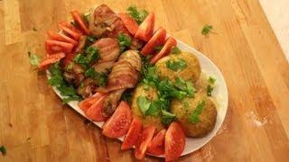 Рецепт куриных ножек в духовке.