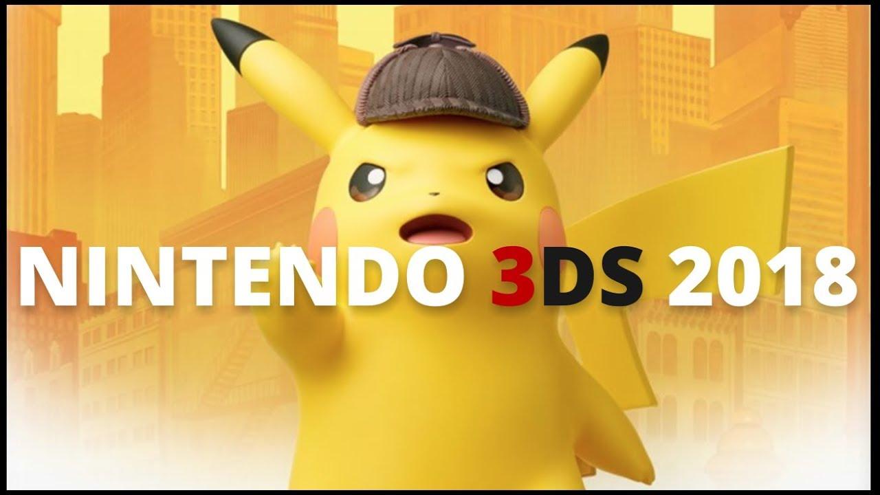 10 Nuevos Juegos Para Nintendo 3ds En 2018 Youtube