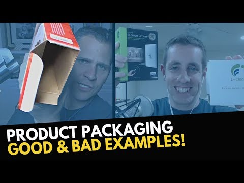 What Makes Good and BAD Product Packaging for Amazon FBA Products (REAL Examples)
