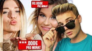 SO VIEL verdienen die größten Youtuber Deutschlands WIRKLICH !!