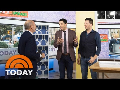 'Property Brothers' Drew And Jonathan Scott Offer DIY Tips To Upgrade Your Home | TODAY