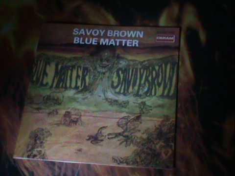 Savoy Brown-Blue Matter,Bluesrock U.K. Rec.68/69